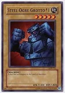 Yu-Gi-Oh! - Steel Ogre Grotto #1 LOB-112 Common - Legend of Blue Eyes White Dragon