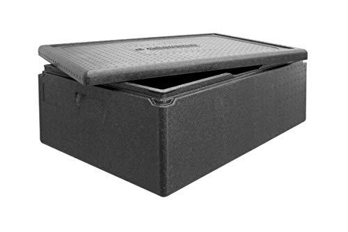 Transport-Box Premium Thermobox, Transportbox Warmhaltebox und Isolierbox mit Deckel, 53 Liter Boxer Transportbox,Thermobox aus EPP (expandiertes Polypropylen)