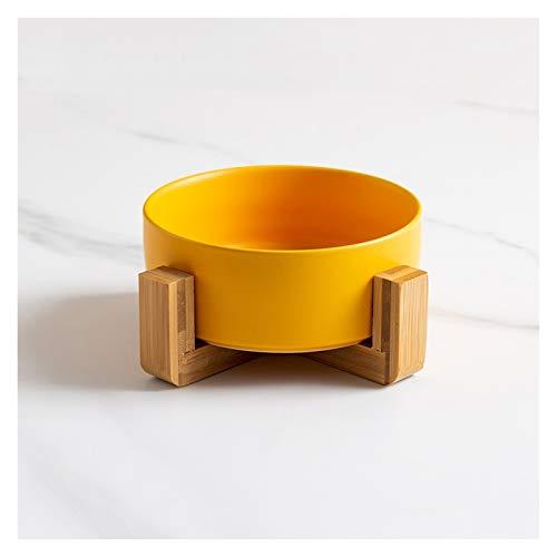 Cenicero Cenicero con trípode no es fácil consultar y volar a prueba de cenizas personalidad creativa moderno sala de estar doméstico resina cenicero Cenicero al aire libre ( Color : Yellow )