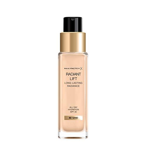 Max Factor, Base de maquillaje (Tono: 60 Sand, Pieles Claras) - 30 ml