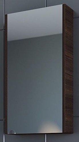 Planetmeubel spiegelkast 40cm gastenbadkamertoilet (wengé)
