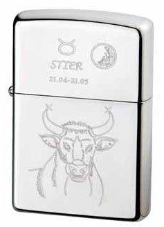 Zippo briquet zodiac collection taureau