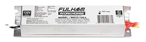 Fulham Lighting Fulham Workhorse Adaptable Ballast, WH33-120-L