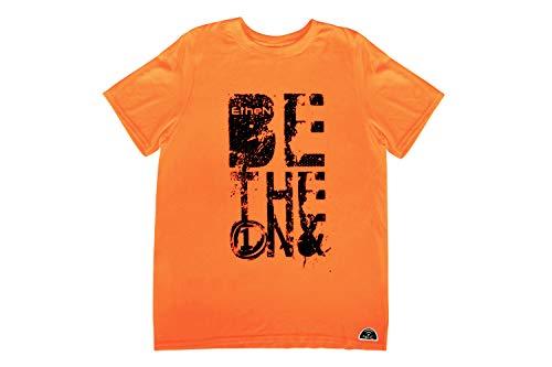 Ethen TFLUOAR Camiseta, Unisex-Adulto, Arancio, S/M/L/XL