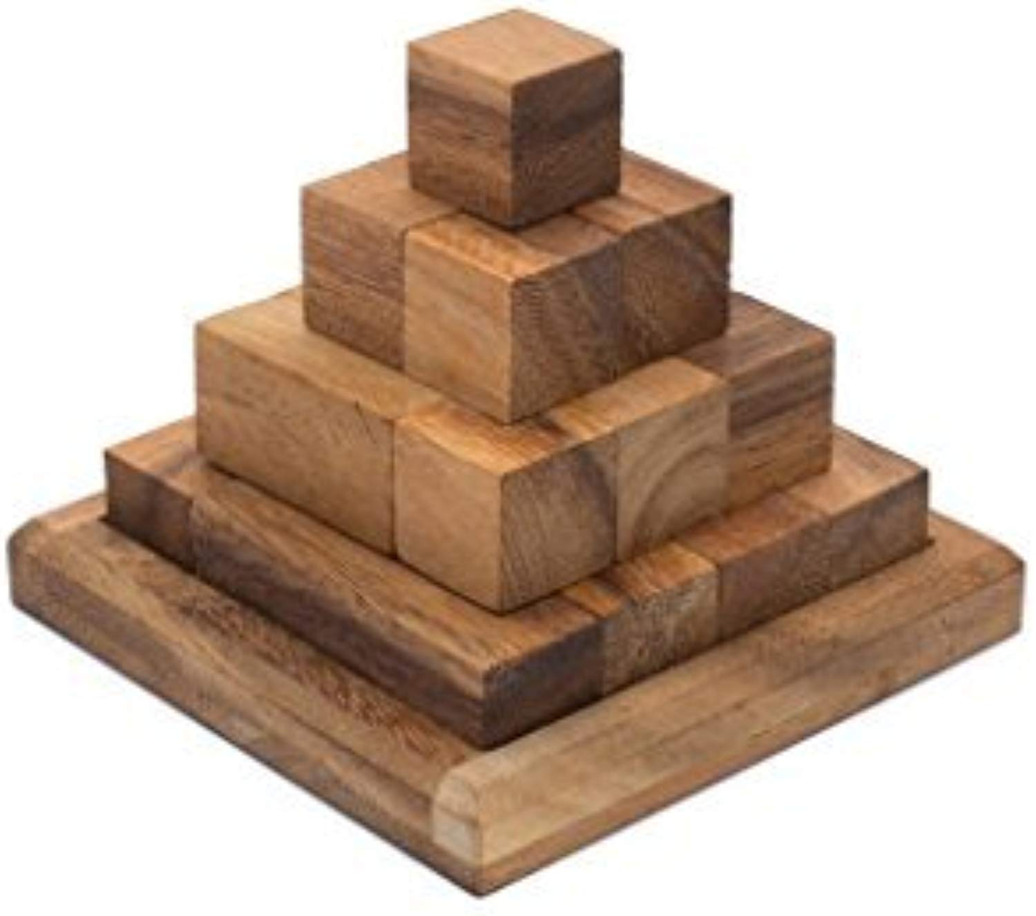 Siamuomodalay  Block Pyramid - Stacre Problem Puzzle - 3D Brain Teaser Adults - Interlocre & Mechanical Puzzle by Siam uomodalay
