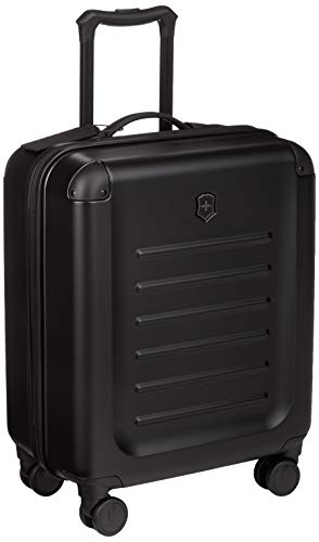 Victorinox Spectra 2.0 Hardside Spinner Suitcase, Black, Carry-On, Extra Capacity (21.7')