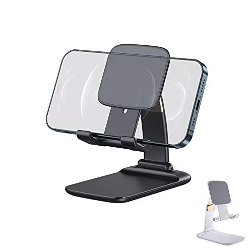 Soporte de mesa para smartphone o tablet ajustable con diseño de bolsillo Q-C38