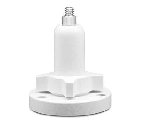 Swann Outdoor Camera Mount, Compatible with Arlo Pro 2 and Most Security Cameras, Wall Mounting Bracket Accessories, White SWWHD-INTSTD-GL