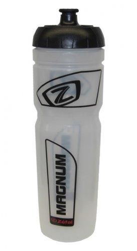 Zéfal 164A Trinkflasche Magnum 1000 ml, semi-transparent/schwarz (1 Stück)