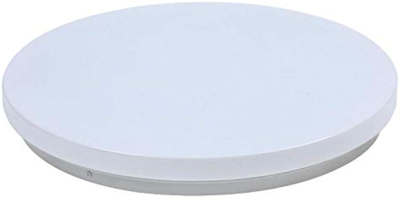Moderne LED-Deckenleuchte ultradünne weie runde einfache Deckenleuchte, dimmbar mit Fernbedienung 48W