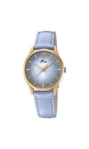 Lotus Watches Reloj Análogo clásico para Mujer de Cuarzo con Correa en Cuero 18407/3