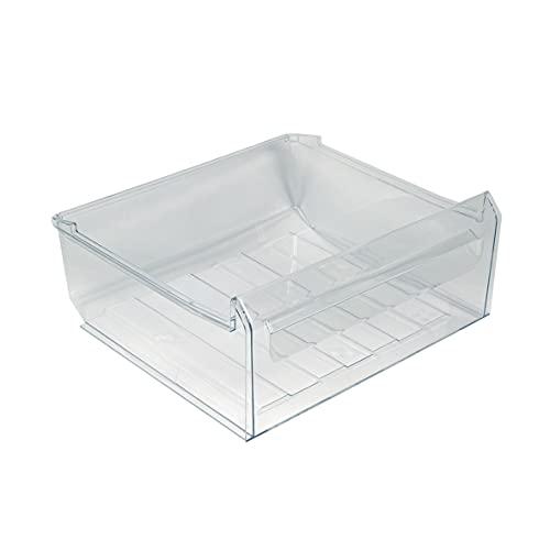 ORIGINAL Electrolux AEG 224713712 2247137124 Schublade Gemüseschale Gemüsefach Kühlschrankfach Gemüseschublade Behälter Schale Fach Box Korb 405x65x370mm Kühlschrank auch Zanussi Zanker Juno Rex