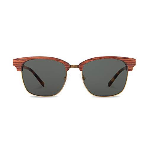 Kerbholz Holzsonnenbrille - ALBERT Rosewood
