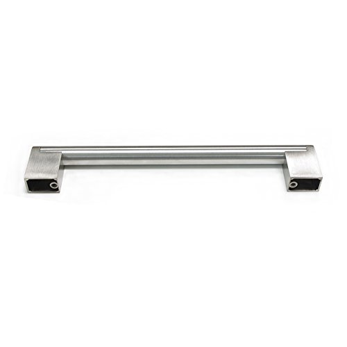 30 Pack 160mm(6-1/4inch) Hole Centers Diameter 14mm Stainless Steel Boss Bar Kitchen Cabinet Door Handles and Pulls Cabinet Knobs Length 197mm(7.88inch) Brushed Nickel