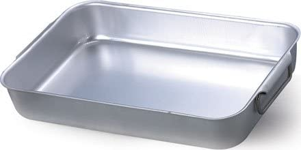 Unbekannt Plat à Four pour Le Grillage Cocottes Agnelli Lourd cod.Alma 15065 Aluminium 65 cm