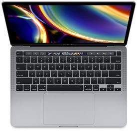Apple MacBook Pro 13' 2016 with TouchBar - 3.3GHz i7 - 16GB RAM - 256GB SSD (A) - Space Gray (Renewed)