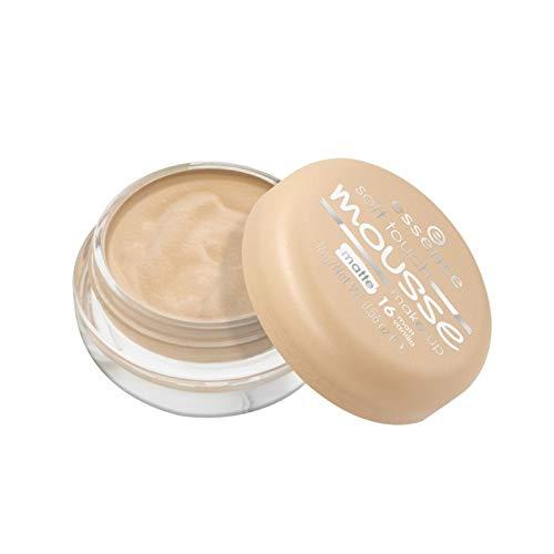 essence - Foundation - soft touch mousse make-up - 16 matt vanilla