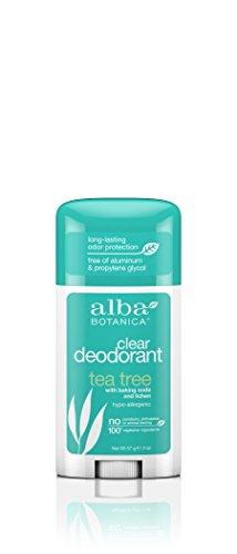 Alba Botanica Tea Tree Clear Deodorant, 2 oz.