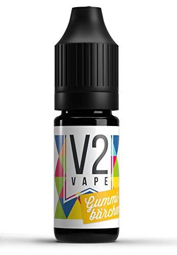 V2 Vape Gummibärchen AROMA / KONZENTRAT hochdosiertes Premium Lebensmittel-Aroma zum selber mischen von E-Liquid / Liquid-Base für E-Zigarette und E-Shisha 100ml 0mg nikotinfrei