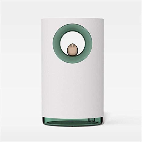 miwaimao Humidificador, USB Difusor de Aceites Esenciales Humidificadores Con Música Cantante, Dormitorio Ambiente Luz Noche 400Ml Difusor de Aroma Blanco, Blanco