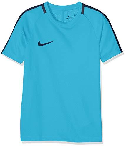Nike 832969 T-Shirt Mixte Enfant, Cone/Noir/Noir, FR (Taille Fabricant : XS)
