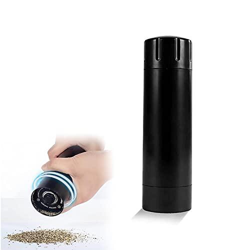 HUUMA Portable Pepper Grinder, Portable Manual Salt And Pepper Grinder, Adjustable Coffee Coarse Salt Seasoning Spice Grinder for Grinding all Basic Spices