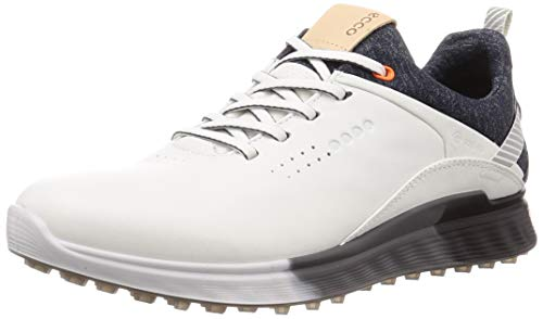 ECCO Herren M Golf S-Three 2020 Golfschuh, White, 46/46.5 EU