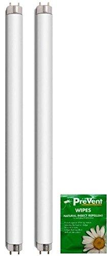 2 x 8 Watt 12 Inch Vervangende Fly Killer Buizen - Lampen voor 16W Electric Fly Killer