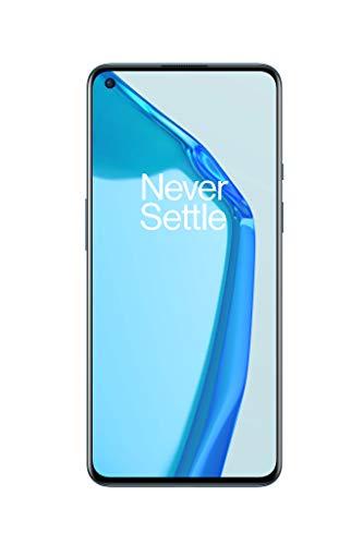 OnePlus 9 5G Smartphone con cámara Hasselblad para móvil - Arctic Sky 8GB de RAM + 128GB, sin SIM