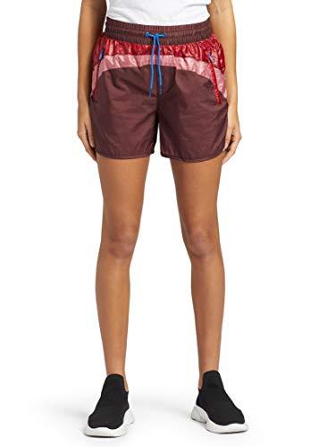 Khujo Damesbroek TIFEN met ritszakken Shorts in 80's Look Korte broek met Color Blocking