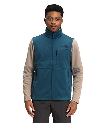The North Face Men's Apex Canyonwall Eco Vest, Monterey Blue Dark Heather, L