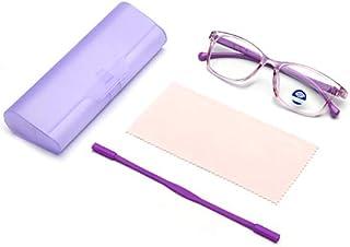 Kids Blue Light Blocking Glasses for Boys Girls | Lightweight Computer Video Game Eyeglasses | Anti Eyestrain, Anti Glare,...