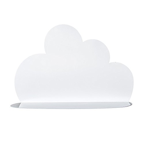 Bloomingville Étagère nuage, blanc, fer