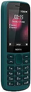 Nokia 215 4G Smartphone, Single SIM, long battery life, a range of games, wireless FM radio and durable ergonomic design -...
