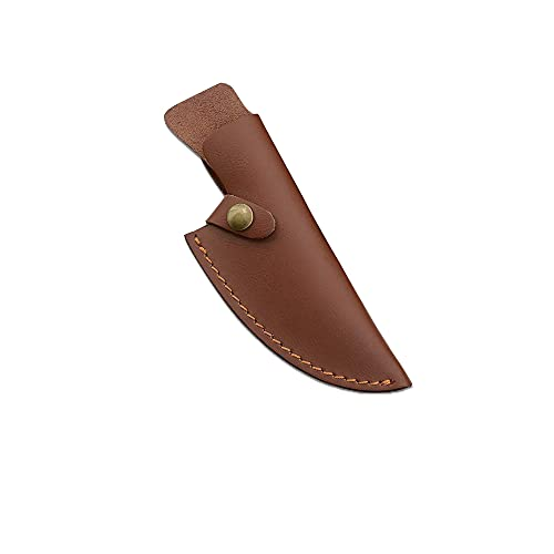 Meat Cleaver, Handmade Stainless Steel Kitchen Boning Knife Fishing Knife Meat Cleaver Outdoor Cooking Cutter Butcher Knife Sheath Case Cleaver Knife,BY JJKY ( Color : Sheath )