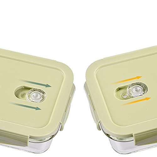 Caja rectangular de mantenimiento de vidrio rectangular puede ser una caja de almuerzo con calefacción por microondas, trabajador de oficina y escuelas primarias de la escuela primaria, caja de bento