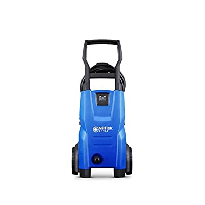Nilfisk C 110 bar 110.7-5 X-TRA Compact Pressure Washer for Basic Tasks – Outdoor Cleaner – 440 L/H Water Flow (Blue) by Nilfisk