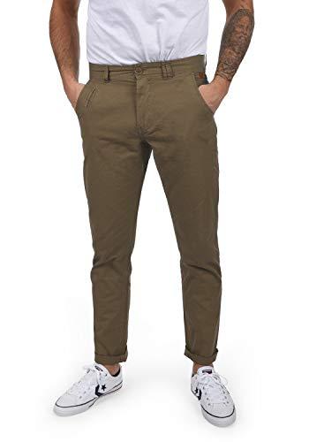 Blend Tromp Pantaloni Chino Pantalone da UomoIn Cotone 100% Regular- Fit, Taglia:W32/32, Colore:Mocca Brown (71508)