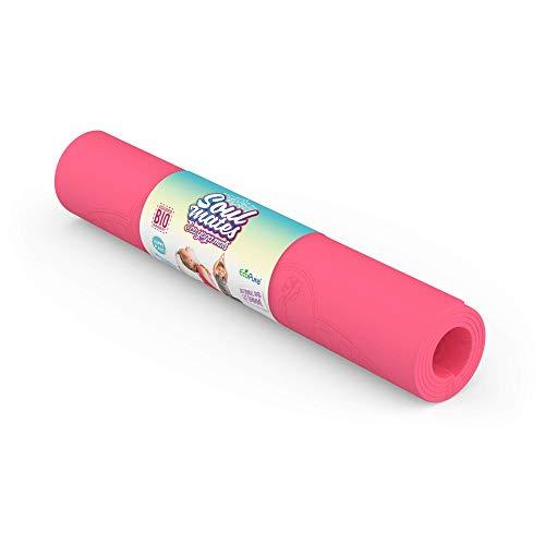 Soul Mates Eco Tapis de yoga pour enfant Unisexe Rose