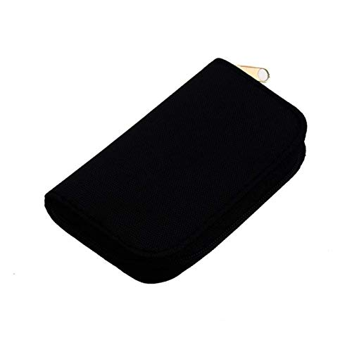 KSPD Tarjeta de Memoria 6 Colores SD SDHC MMC CF para Micro SD Tarjeta de Memoria Almacenamiento Llevar Bolsa Bolsa Caja Cartera Protector Cartera Accesorios de Viaje