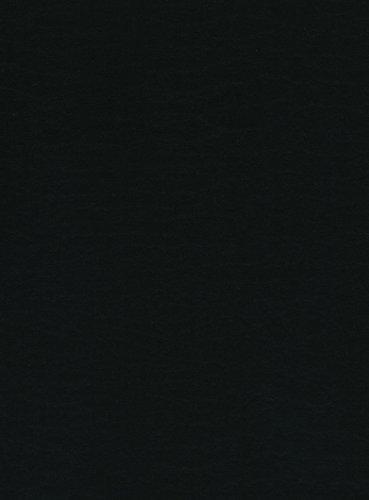 12-Piece Kunin Eco-fi Stick'rzfelt Stiffened Peel-n-Stick, 9-Inch by 12-Inch, Black