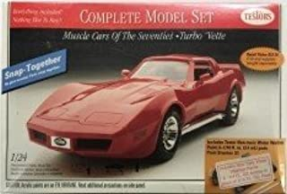 Testors Muscle Cars of the Seventies Turbo Vette 1/24 Vintage 1996 Snap-Together