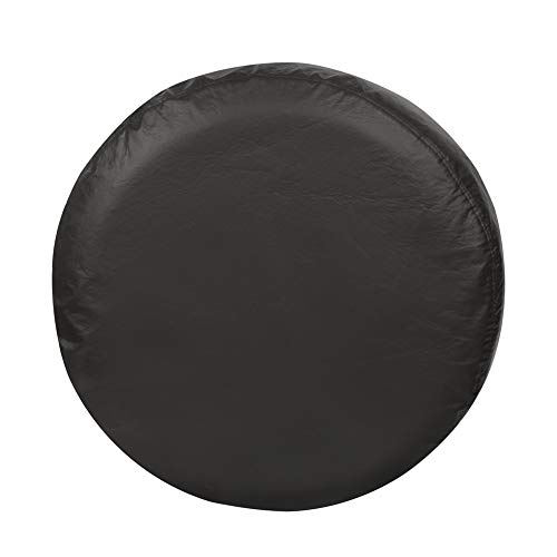 Explore Land 26-27.75 inch Spare Tire Cover Fit Jeep, Trailer, RV, SUV, Truck, Tough Tire Wheel Soft Cover, Black (Fits Entire Wheel size 26-27.75 inch)