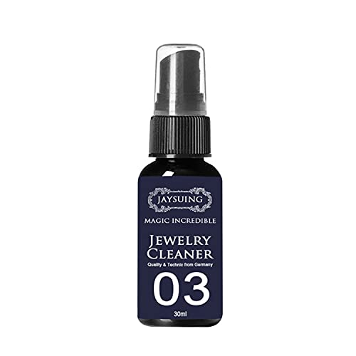 PNDGMCSY Tarnishgone Jewellery Cleaner - Silver Jewelry Cleaning Spray,Jewellery Cleaner Liquid Cleaning Solution Silver Gold Gems Platinum,Restores Shine And Brilliance to Jewelry (50 ML)