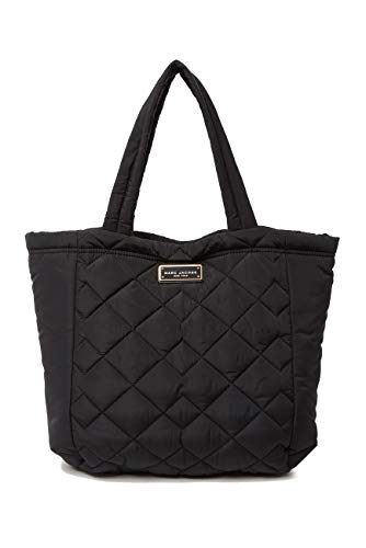 Marc Jacobs Large Quilted Nylon Tote (Black)