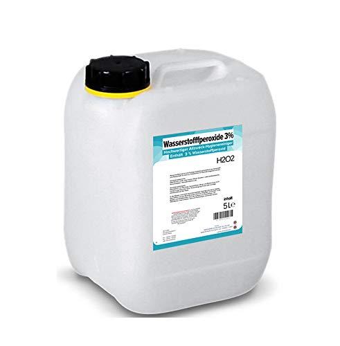 5 Liter Wasserstoffperoxid H2O2 3 Prozent 5000 ml