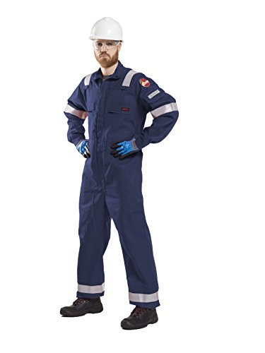 Roots Originele RO23095 Flame Bus TER2 Nordic Work Overalls (48, Navy
