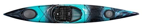Perception Kayaks Carolina 14 | Sit Inside Touring Kayak | Large Front and Rear Storage | 14' | Dapper