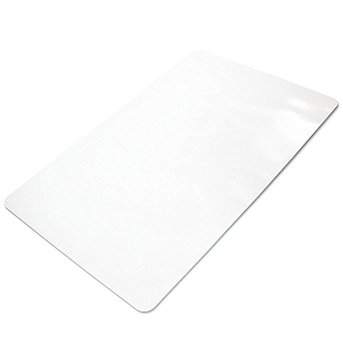 Ilyapa Large, Heavy Duty Office Chair Mat, 47 x 59 Inches - Clear, Durable PVC Chair Mat for Hardwood Floors - Protective Floor Mat for Office, Computer Desk Chair Mat