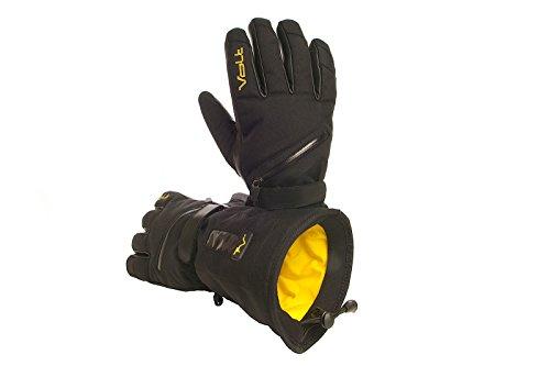 Men's Volt Heated snow gloves, Black, Medium